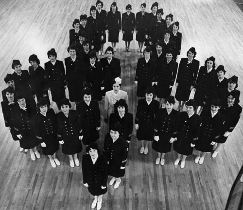 West Side Irish American Club Ladies' Drill Team, 1961