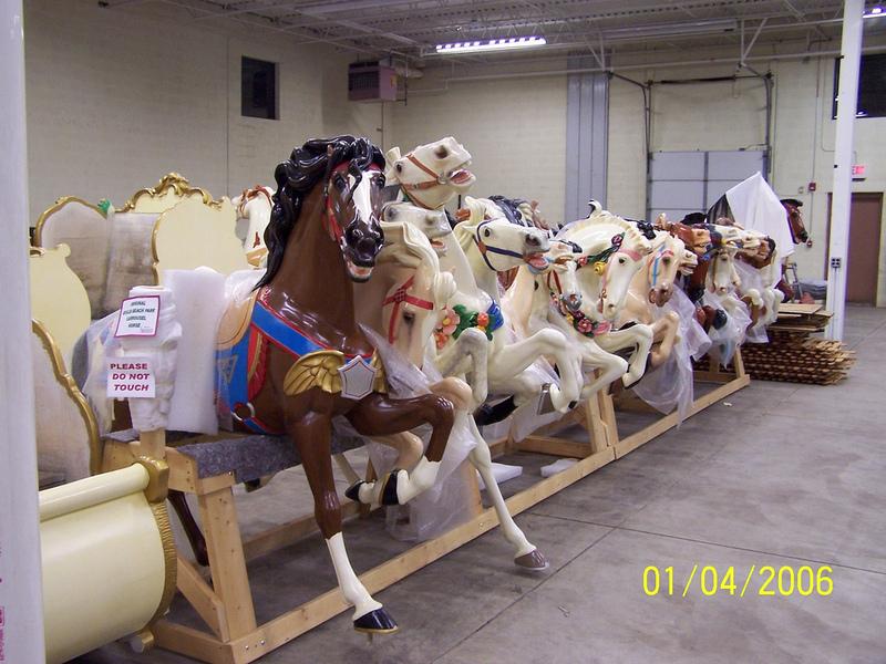 Horses in Storage, 2006