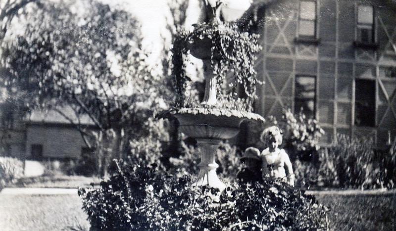 Needham Castle Fountain