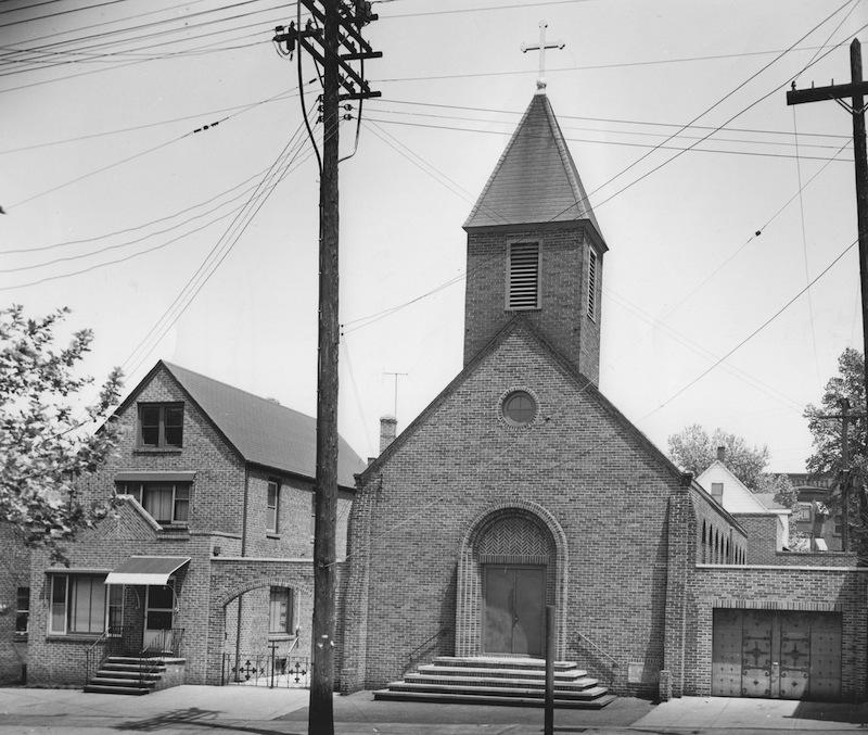 St. Helena's Exterior, 1958