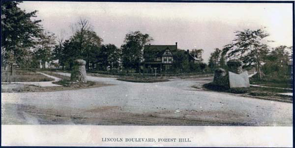 Lincoln Boulevard Entrance, ca. 1918
