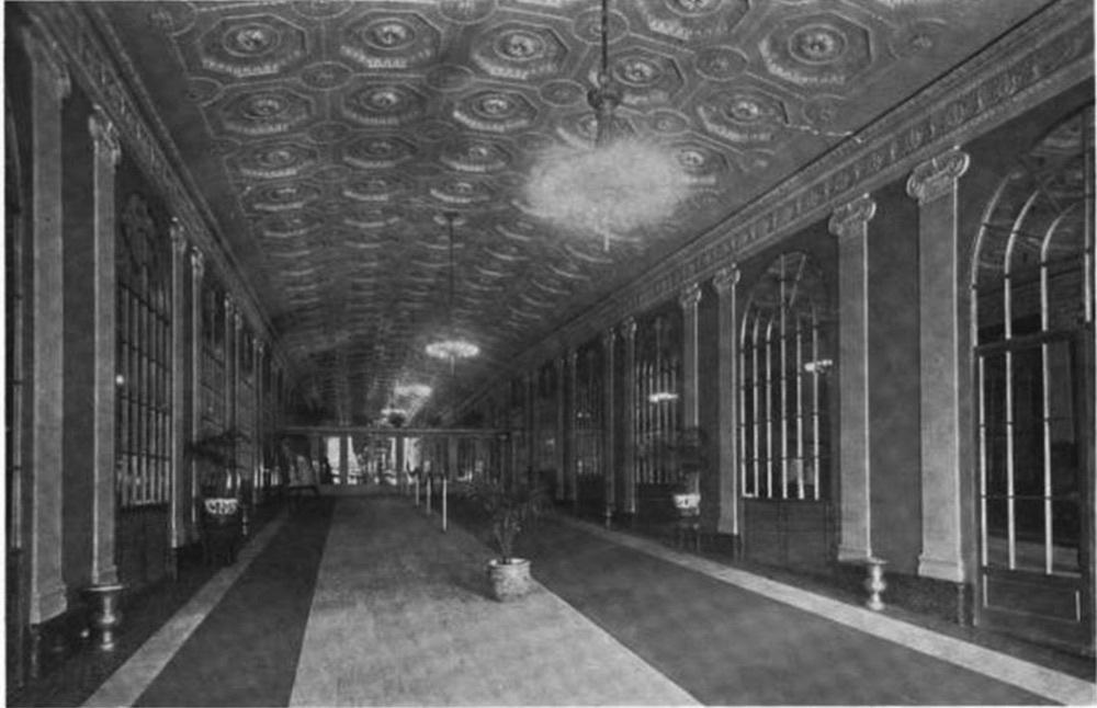 The Stillman Theater Lobby