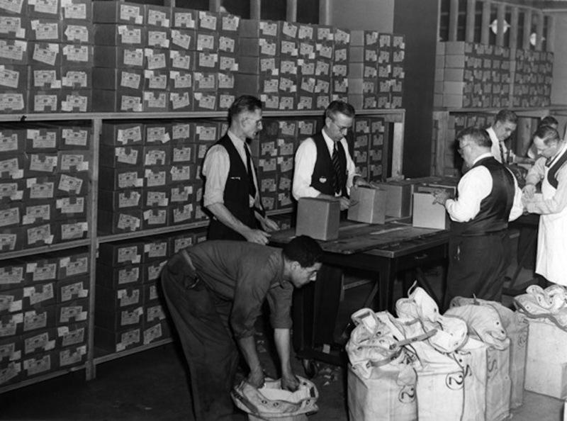 Bonds Being Received, 1942
