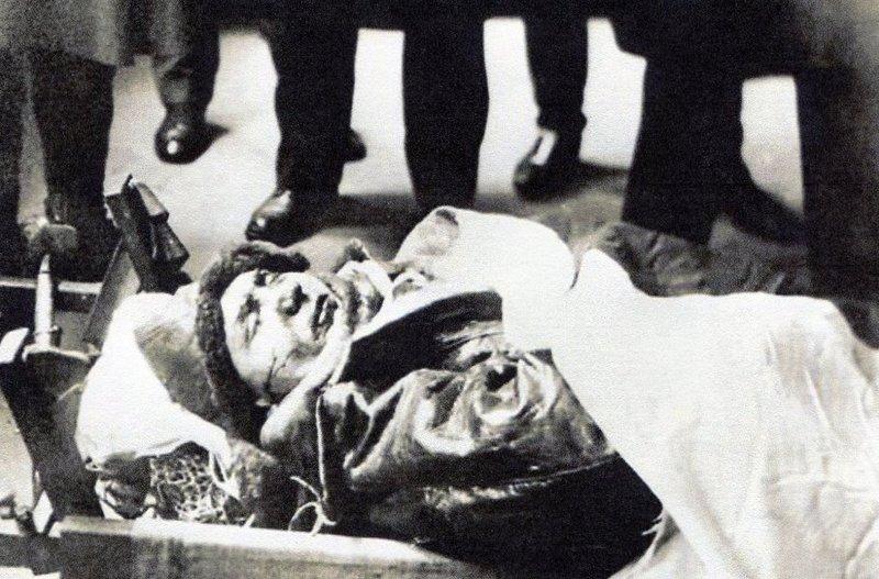 Stefanik in Coffin