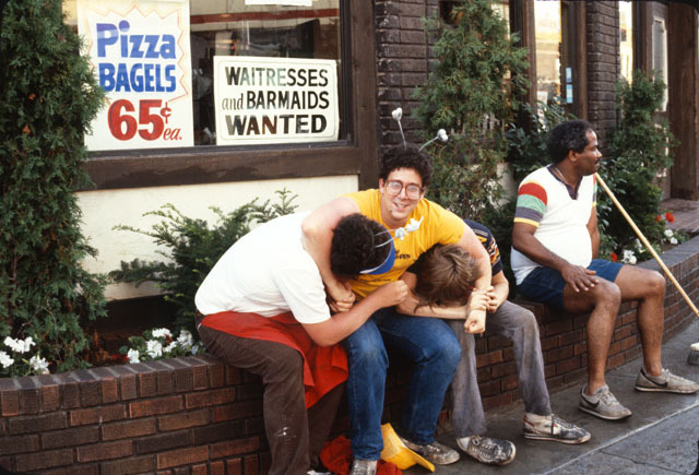 Irv's During the Street Fair, 1982