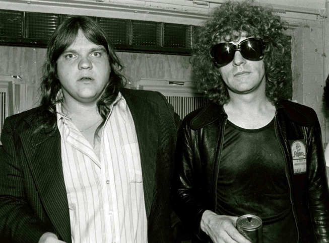 Meatloaf and Ian Hunter at the Agora, ca. 1979