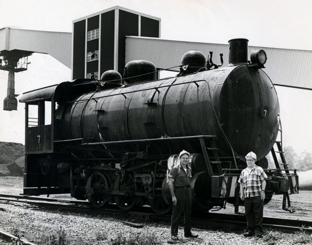 Steam Locomotive, 1977