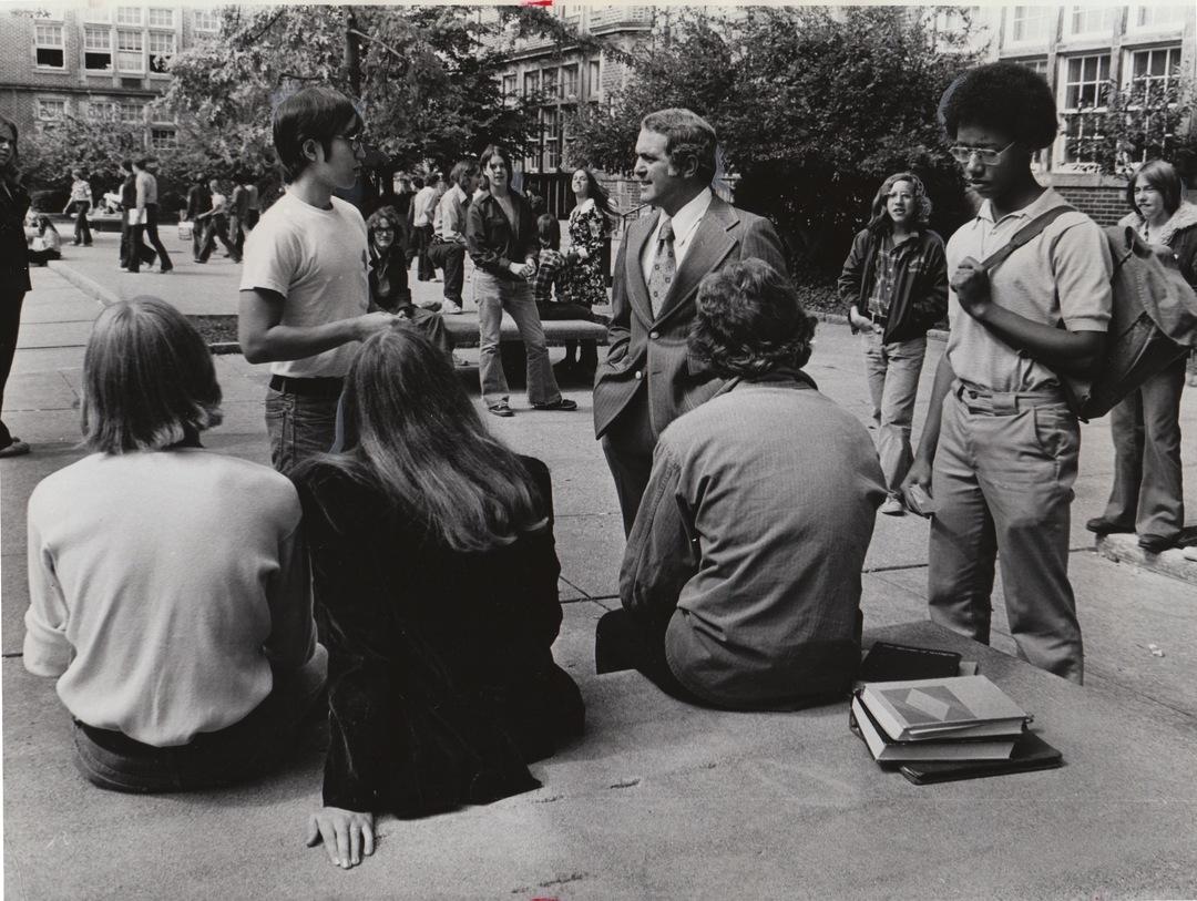 Courtyard, 1975