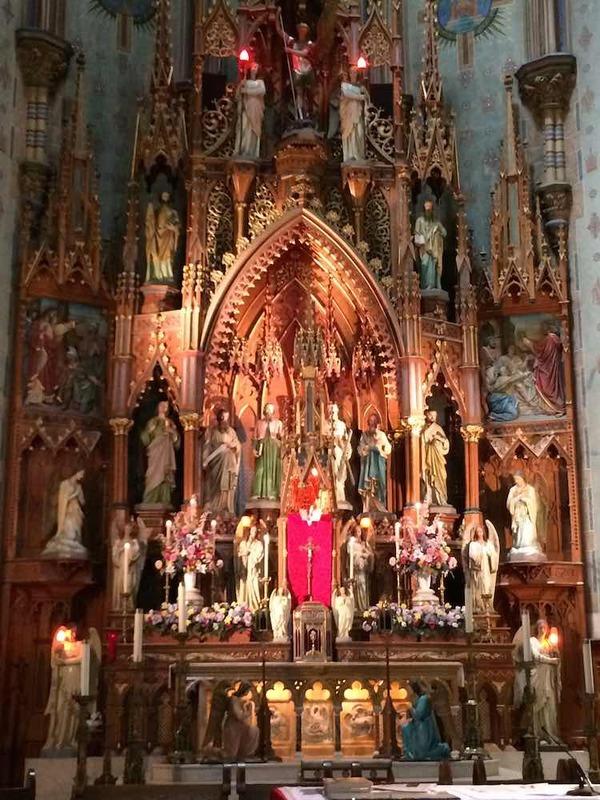 St. Michael's Altar, 2015