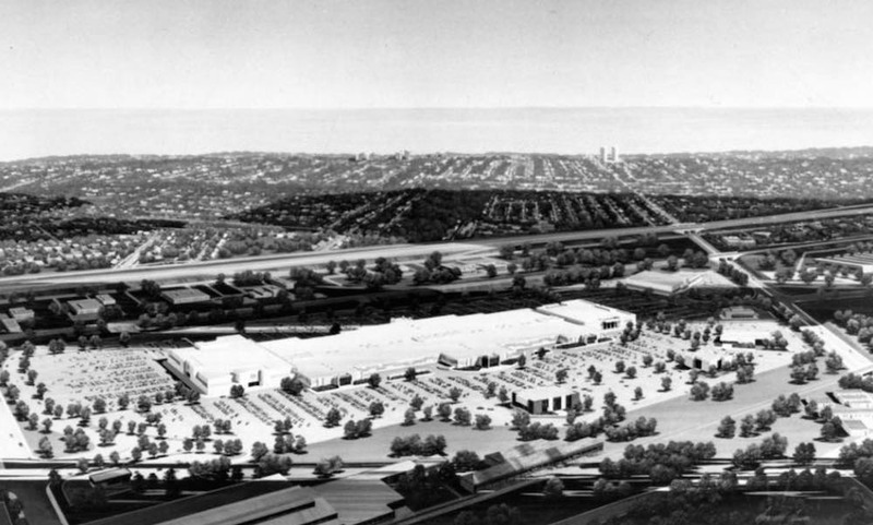 Euclid Square Mall Rendering, 1976