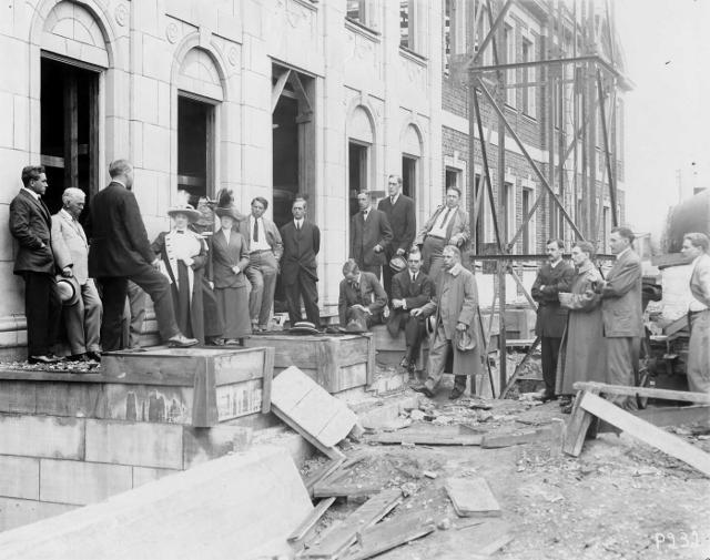Cornerstone Ceremony, 1913