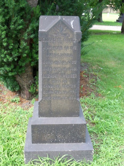 The Gamaliel Fenton Marker