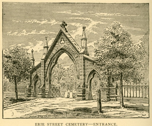 Erie Street Cemetery Entrance