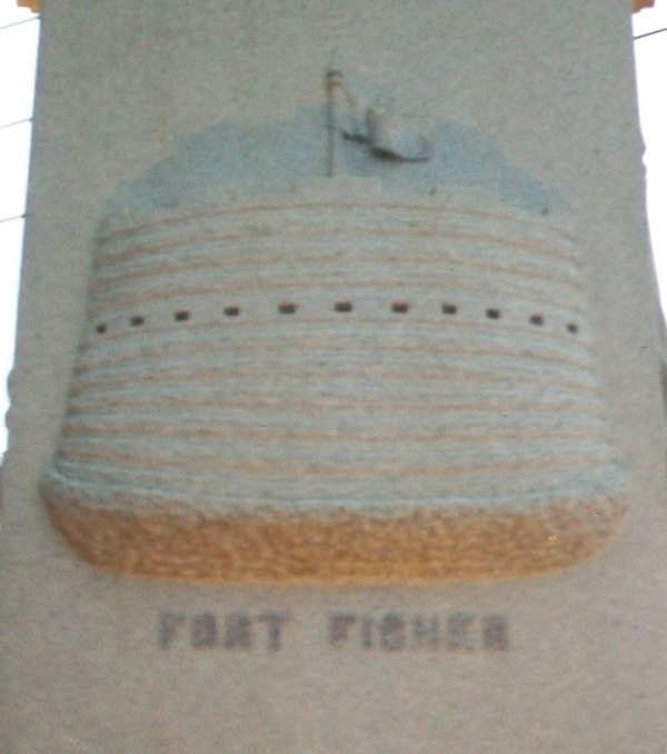 Fort Fisher Carving