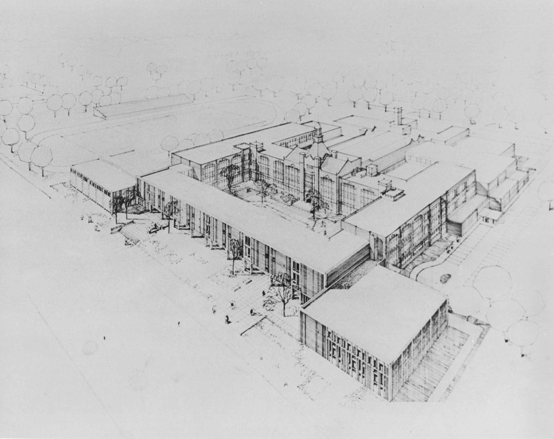 Expansion Sketch, 1960s