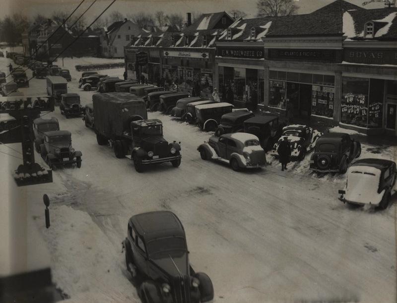 Kinsman Commercial District, 1936