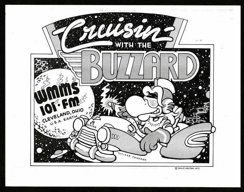 WMMS Promotional Art, 1977