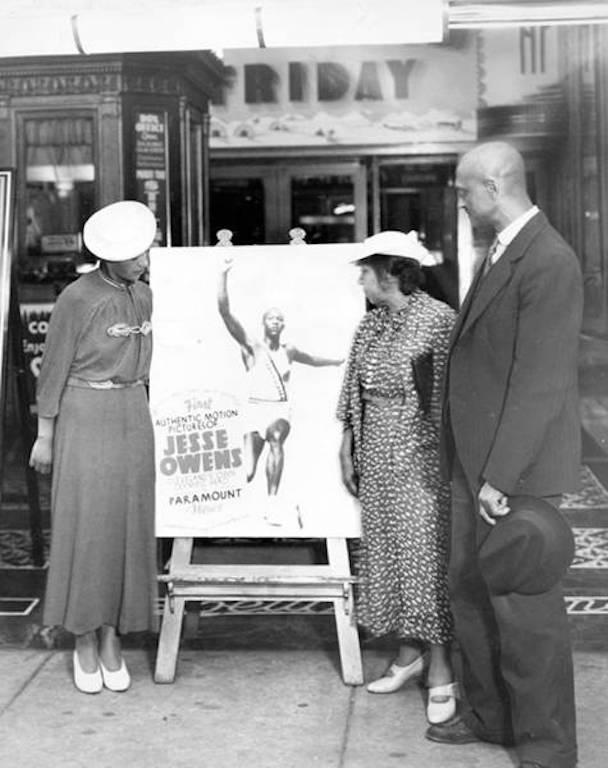 Jesse Owens triumphs