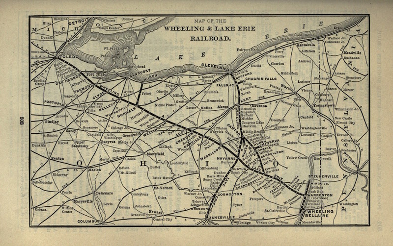 Wheeling & Lake Erie Railroad, 1901