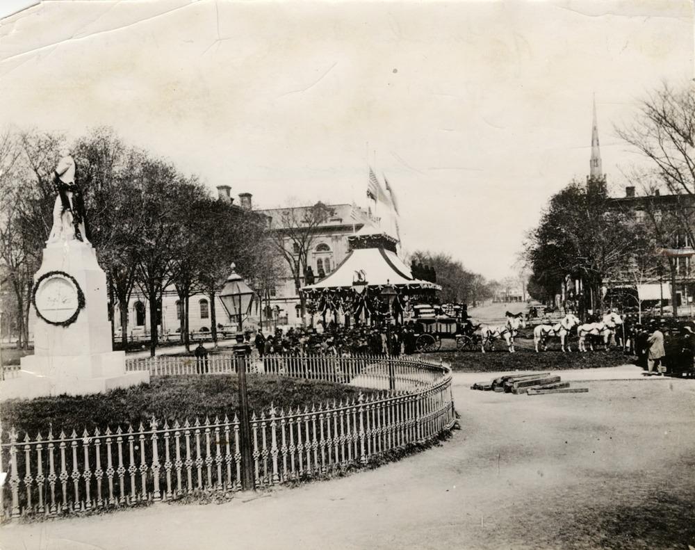 Abraham Lincoln Cortege on Public Square