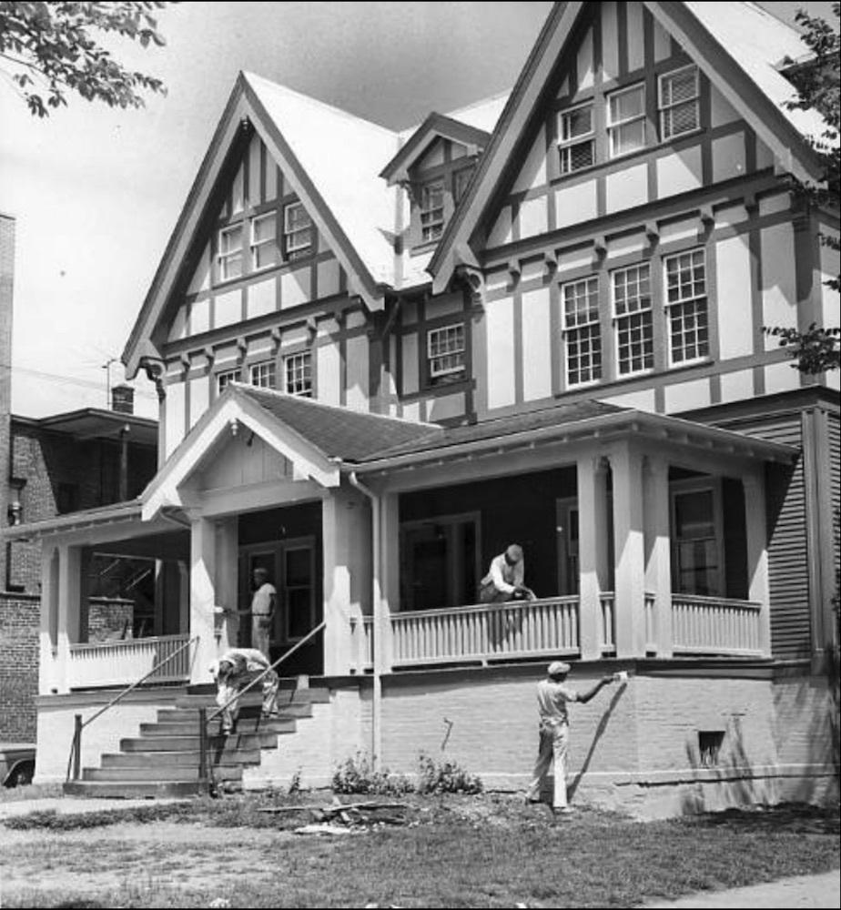 Restoring an old Settlement House