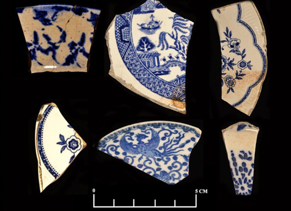 Blue Transfer Print Ceramics
