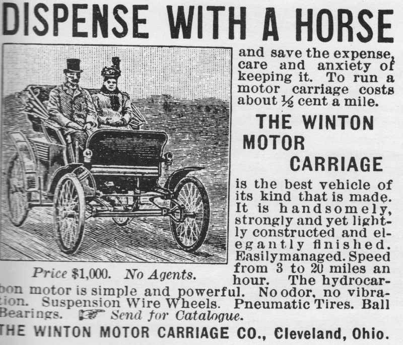 """Dispense With a Horse,"" 1896"