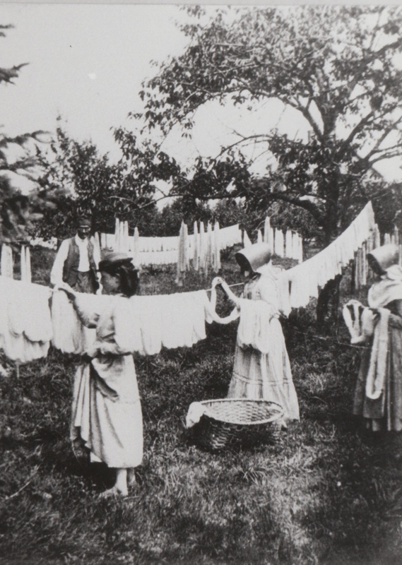 Dyeing and Drying Wool, 1876