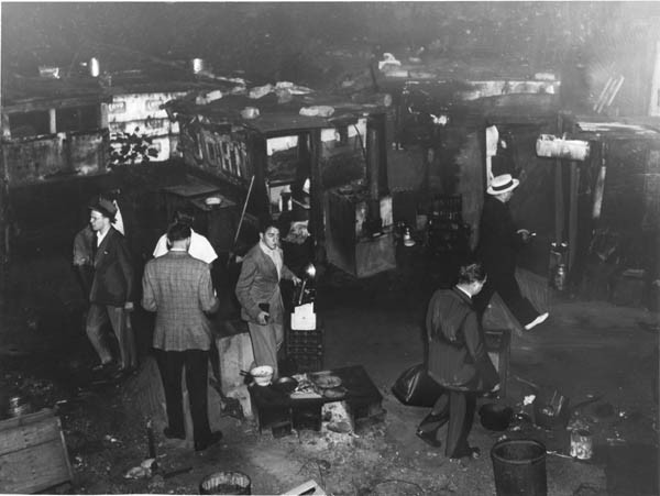 Police Raids in the Shantytown