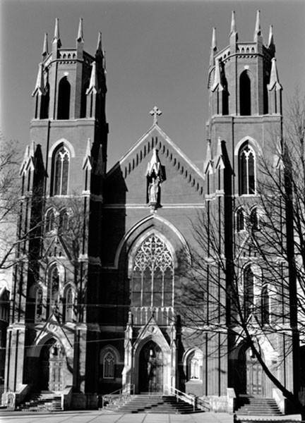 Facade of St. Stanislaus