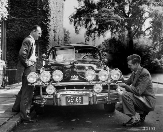 Many-eyed Vehicle, 1951