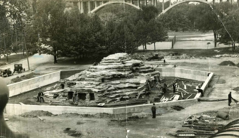 Monkey Island Construction, ca. 1935
