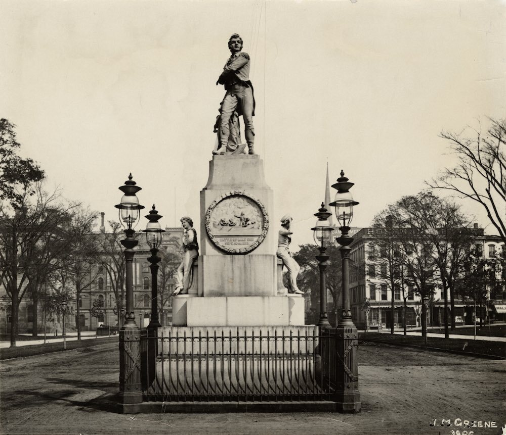 Commodore Perry Statue by Walcutt