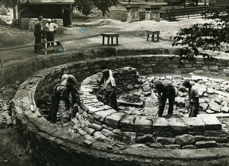 Prairie Dog Enclosure, 1936