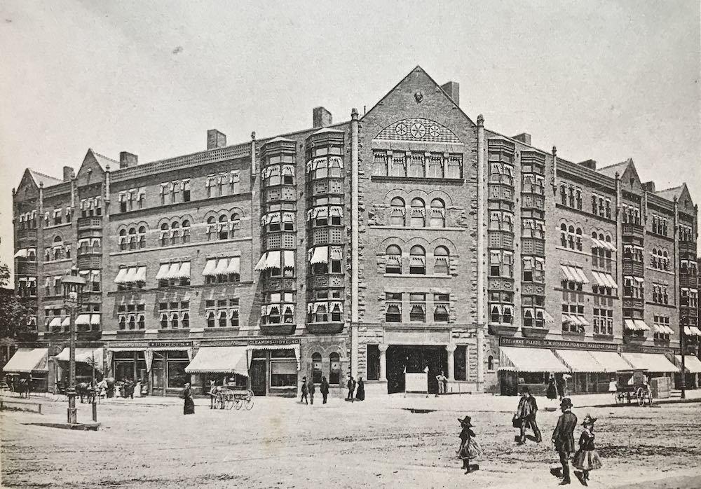The Cyclorama Building, 1889