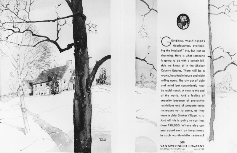 Shaker Country Estates Ad