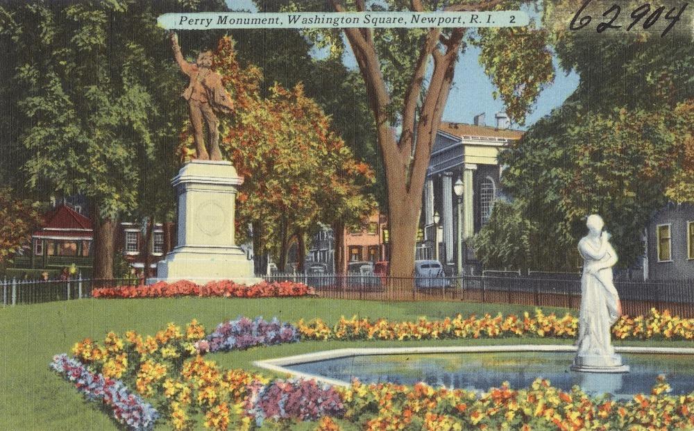 Commodore Perry, Newport, Rhode Island