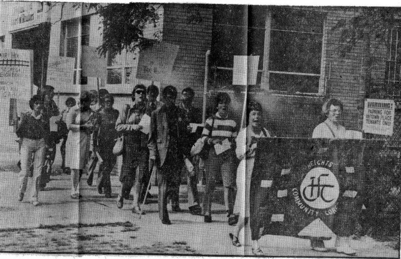 HCC Protest, 1980
