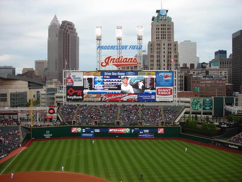 Progressive Field, 2008