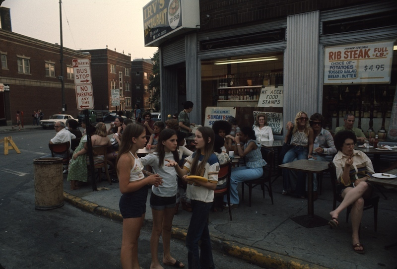 Irv's During the Street Fair, 1975