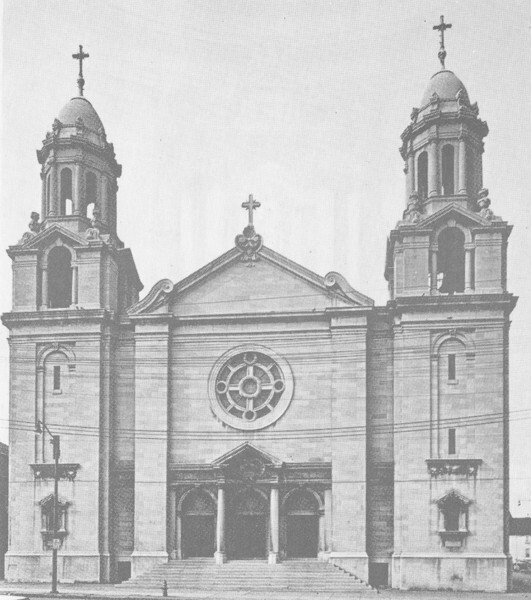St. Elizabeth of Hungary, Exterior