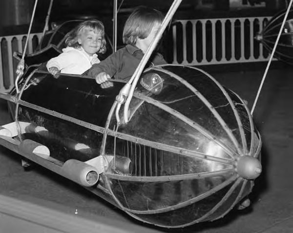 Kiddie Rocket Ships, 1964