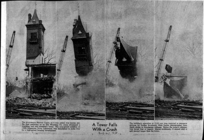 Demolition of Kundtz's Castle, 1961