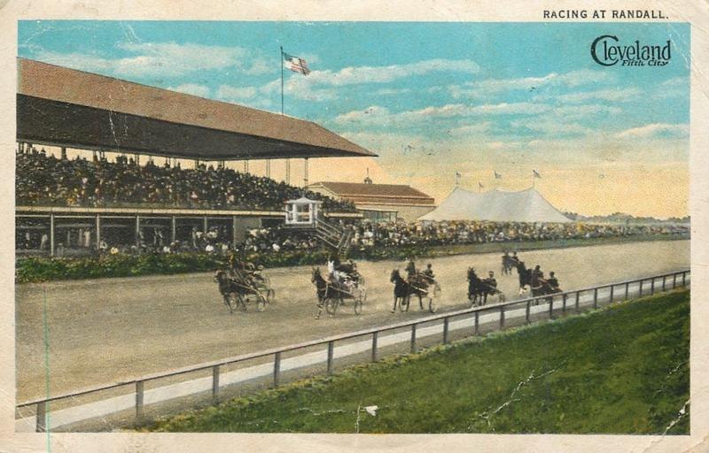 Randall Park Racetrack, ca. 1910s