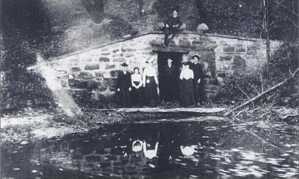 Horseshoe Lake Dam, 1900