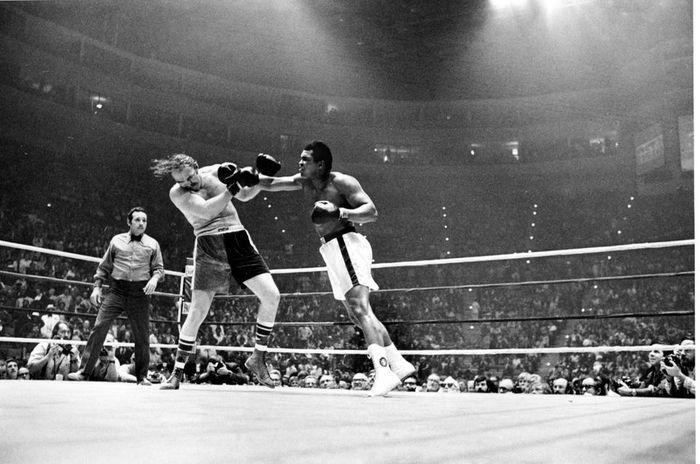 Muhammed Ali vs. Chuck Wepner