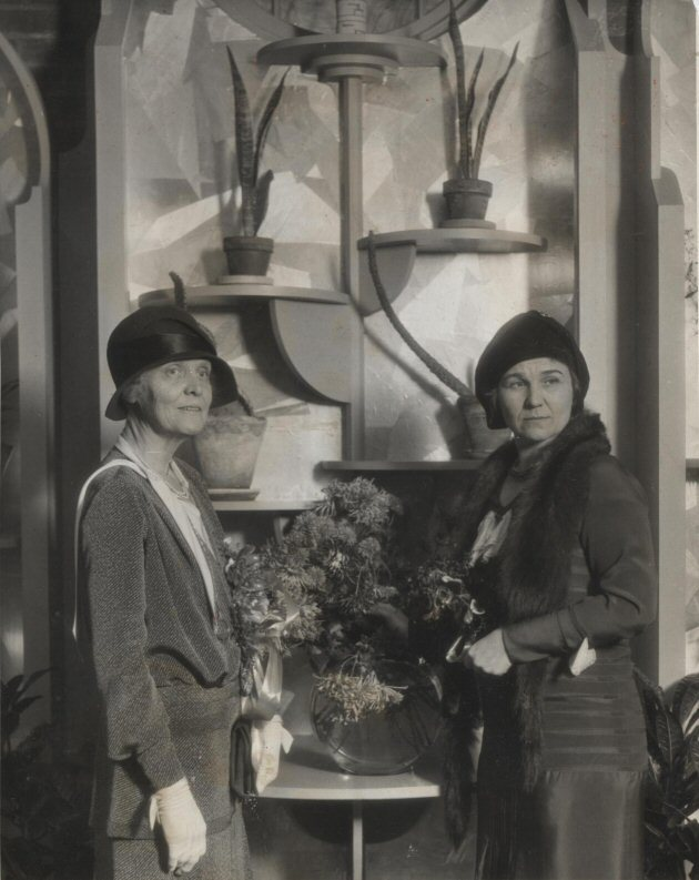 Garden Club Floral Arrangement, 1930