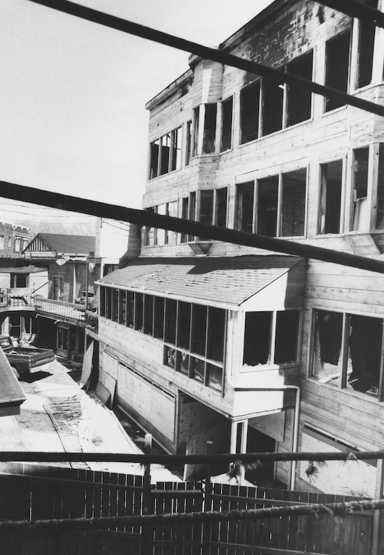 Rebuilding CoventrYard, 1978