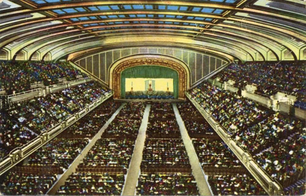 Public Auditorium Interior
