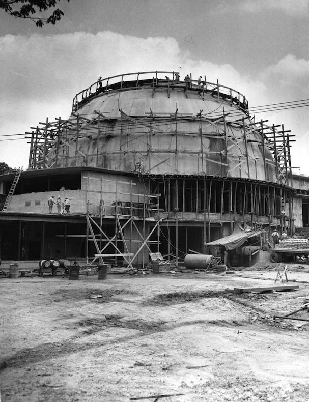 Sanctuary Construction, 1949